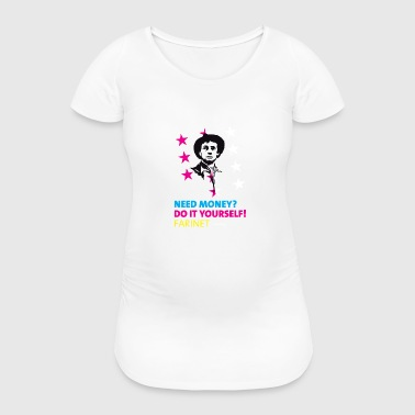 Farinet Do It Yourself - Frauen Schwangerschafts-T-Shirt