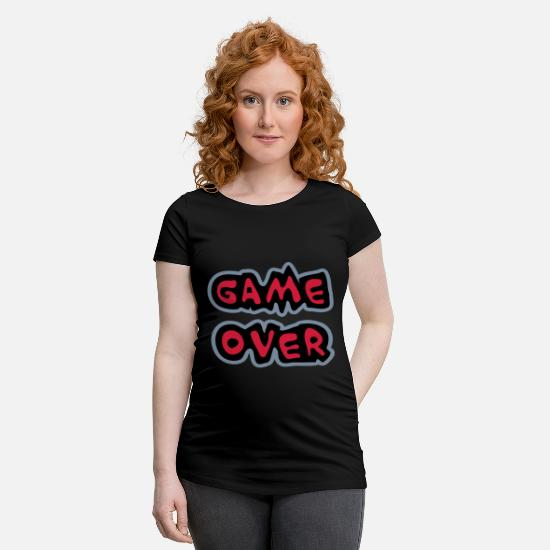 Over T-Shirts - Game Over - Maternity T-Shirt black