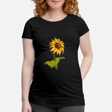 Love Sunflower Classic gift for florists - Maternity T-Shirt