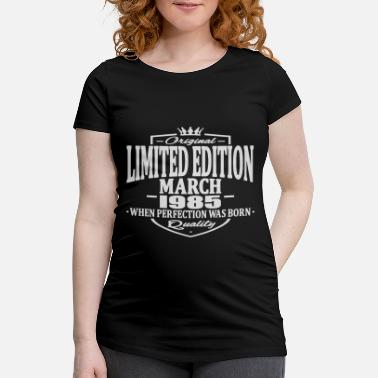 1985 Limited Edition Limited edition march 1985 - Women's Pregnancy T-Shirt
