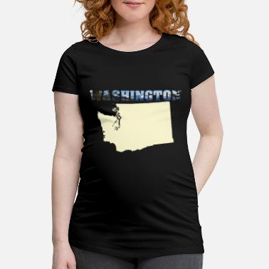 Washington Washington - Frauen Schwangerschafts-T-Shirt