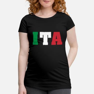 Country Abbreviation Italy ITA flag - Women's Pregnancy T-Shirt
