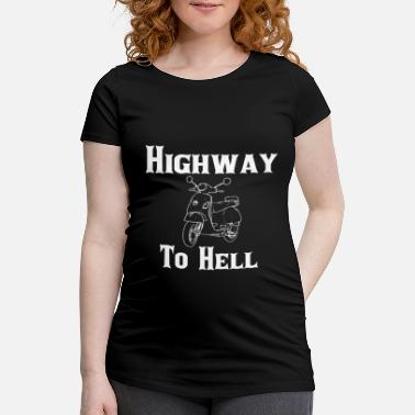 Highway To Hell Highway To Hell - Schwangerschafts-T-Shirt