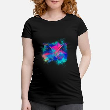 Chromatic Iridescent chromatic colorful - Maternity T-Shirt