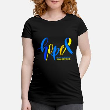 Down Hope Down Syndrome Awareness - Maternity T-Shirt