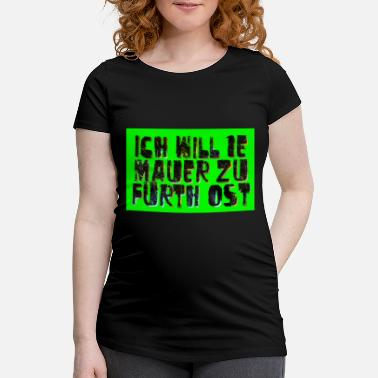 Fuerth wall - Maternity T-Shirt