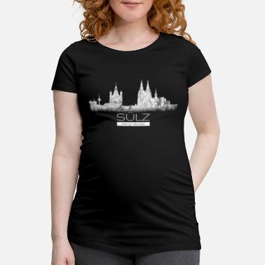 Sülz Ming Kölsches Veedel home Cologne cult district - Maternity T-Shirt