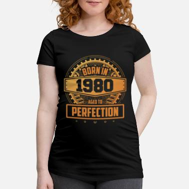 40th birthday Aged To Perfection September 1980 - Maternity T-Shirt