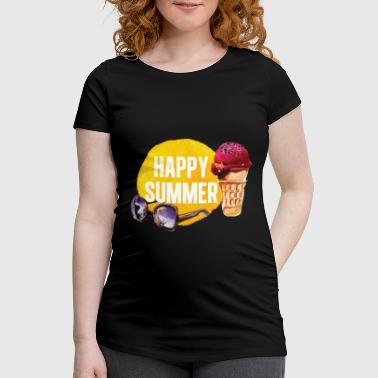 Summer refreshment - ice cream - Women's Pregnancy T-Shirt
