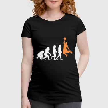 ++Basketball Slam Dunk Evolution++ - Frauen Schwangerschafts-T-Shirt