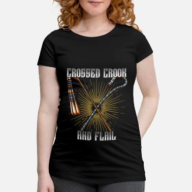 Crook Crook and flagellum - Maternity T-Shirt