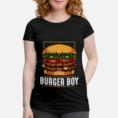 Cheeseburger cheeseburger - T-shirt de grossesse