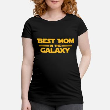 Tv Best Mom in the Galaxy - Maternity T-Shirt