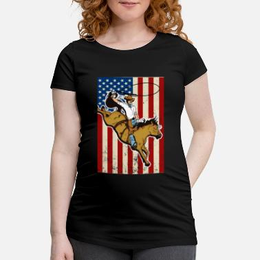 Western Riding Western riding - Maternity T-Shirt