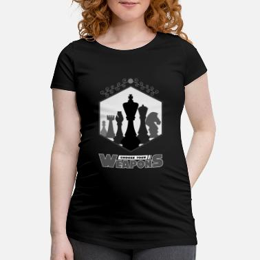 Chess Chess, chess chess players, chess chess - Maternity T-Shirt