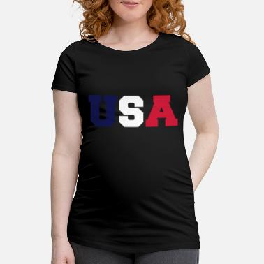 Usa usa - Maternity T-Shirt