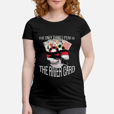 Heart Gift Poker Casino Playing Cards - Maternity T-Shirt