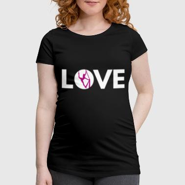 Love Silks, white - Women's Pregnancy T-Shirt