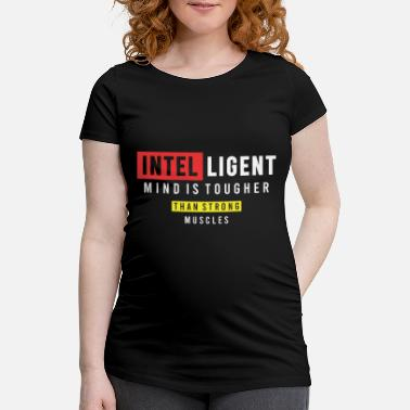 Ghost Intelligent mind is tougher - Maternity T-Shirt