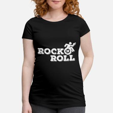 Rocking Chair Rock 'n' Roll (chair) - Women's Pregnancy T-Shirt