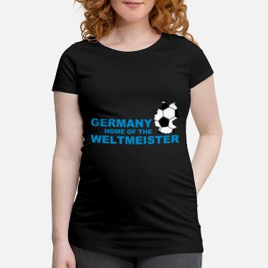 Saga germany home of the weltmeister 2 - Gravid T-shirt