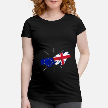 Europe Europe Brexit poing contre poing - T-shirt de grossesse
