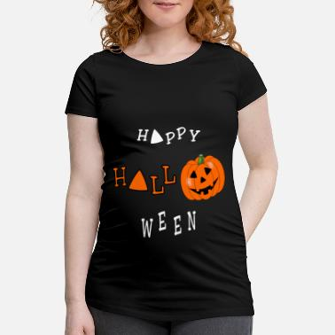 Halloween Happy Halloween - T-shirt de grossesse