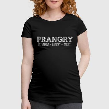 Belly Pregnancy Pregnant Baby Belly Baby Prangry - Women's Pregnancy T-Shirt