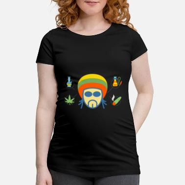 Rasta Rasta - Women's Pregnancy T-Shirt