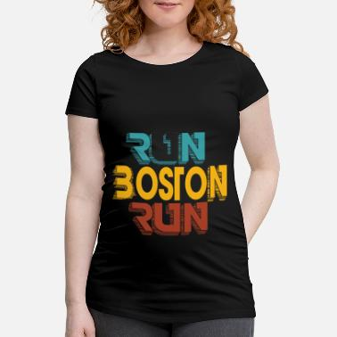 Boston Marathon Boston Marathon - Gravid T-shirt