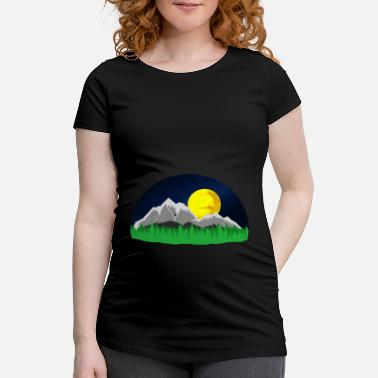 Mountains Mountains Mountains mountains - Maternity T-Shirt