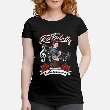 Rockabilly Kvinders rockabilly pige vintage retro rock n roll - Vente T-shirt