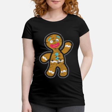 Gingerbread Man Gingerbread man - Maternity T-Shirt