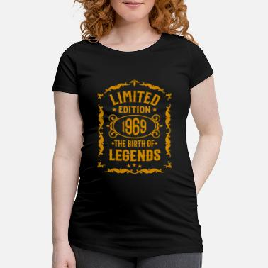 Happy Birthday Geboren 1969 - Ugly gestricktes Design T-Shirt - Schwangerschafts-T-Shirt