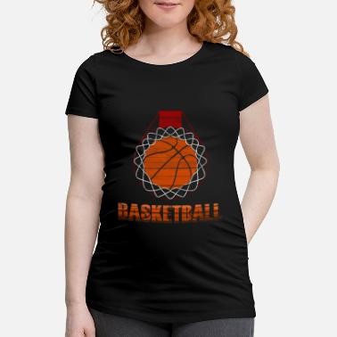 44b0ff988a5 Basketball Sport Passion Orange Game - Maternity T-Shirt