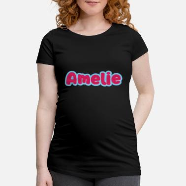 First Name Amelie name first name - Maternity T-Shirt