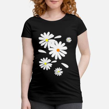 Bloom Daisies - Maternity T-Shirt