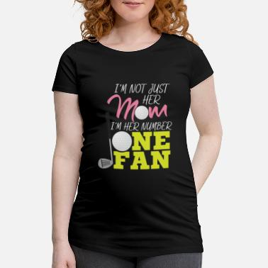 Mama Golf Fan Gift Golf Course Golf Club - Maternity T-Shirt