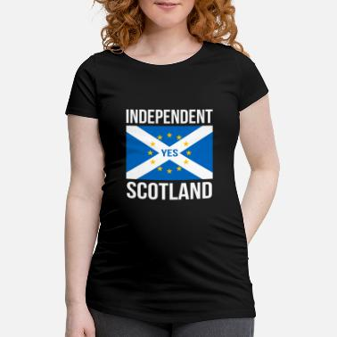INDEPENDENCIA ESCOCESA ESCOCIA INDEPENDIENTE - UE - Camiseta premamá