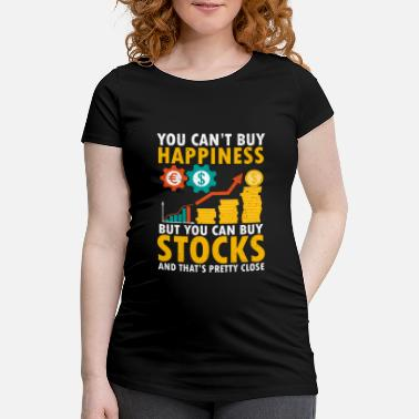 Quick Funny stock trader design - Maternity T-Shirt