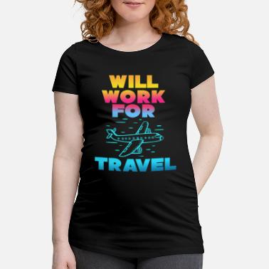 Travel to travel - Maternity T-Shirt
