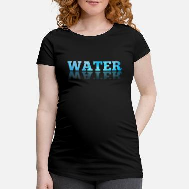 Waters Water / water logo - Maternity T-Shirt