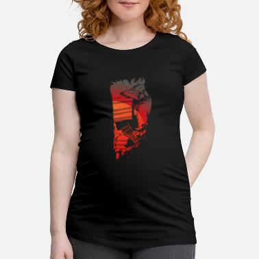 Kanji Japanese Samurai Warrior - Japan Lover - Bushido - Maternity T-Shirt