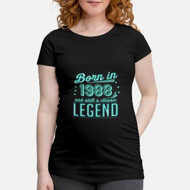 Since Classical legend 1988 - Women's Pregnancy T-Shirt