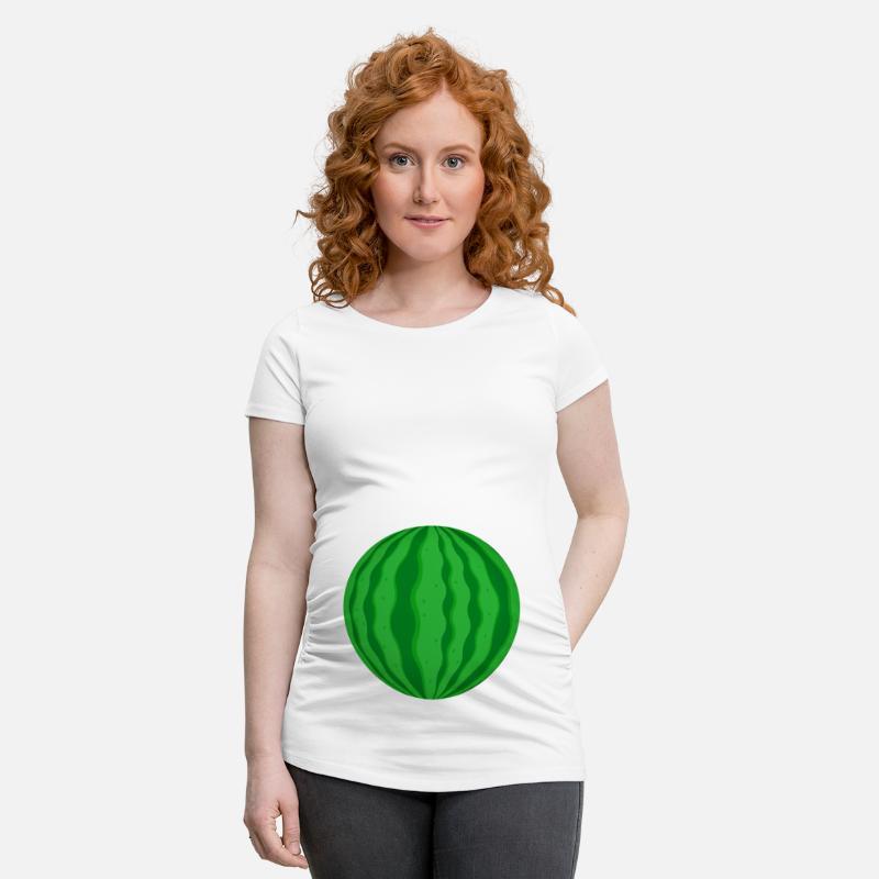 76278778a Watermelon pregnancy funny gift idea Maternity T-Shirt   Spreadshirt