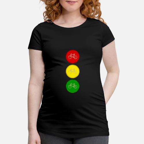 Ampel Fahrrad Fahrradampel Schwangerschafts T Shirt Spreadshirt
