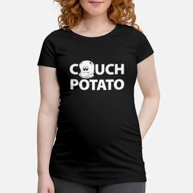 Couch Potato Couch Potato. Couch potato. gift idea - Women's Pregnancy T-Shirt