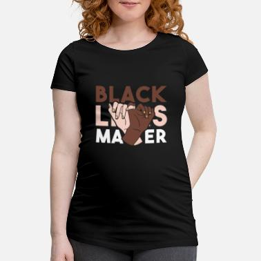Power Metal Black Lives Matter T Shirt - Maternity T-Shirt