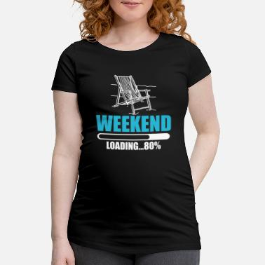 Weekend weekend - T-shirt de grossesse