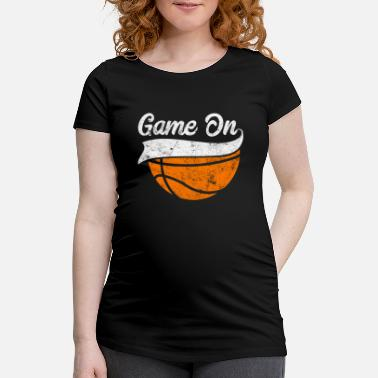 Game Ball Basketball Game Ball - Maternity T-Shirt